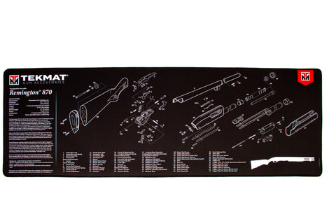 "Gun Cleaning Mat, 15""x44"", Ultra 44 - Remington 870"