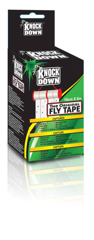 Fly Tape-10cm Wide & 6 Meters Long (in Retail Box)