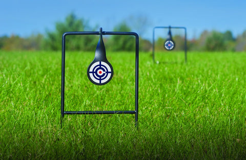 Logo Dual Spinning Targets Portable All Metal 2 Targets