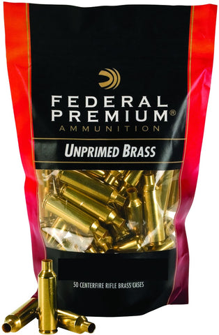 Unprimed Brass Casings 270 WSM 50Pk