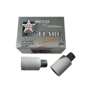 15mm Signal Flares 6-Pack White, 14,000 CP