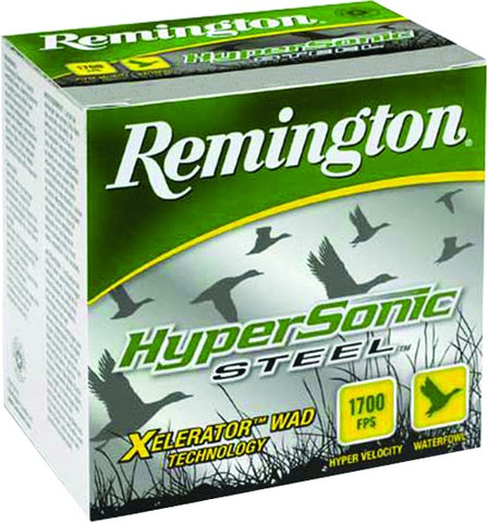 HyperSonic Steel Shotshell 12 GA, 3 in, No. BB, 1-1/8oz, 1700 fps, 25 Rnd per Box