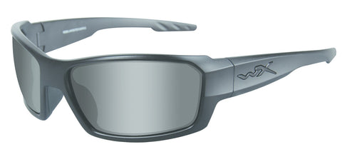 Wiley X Rebel Black Ops Active Series Sunglasses Grey/Matte Black Frame M-L