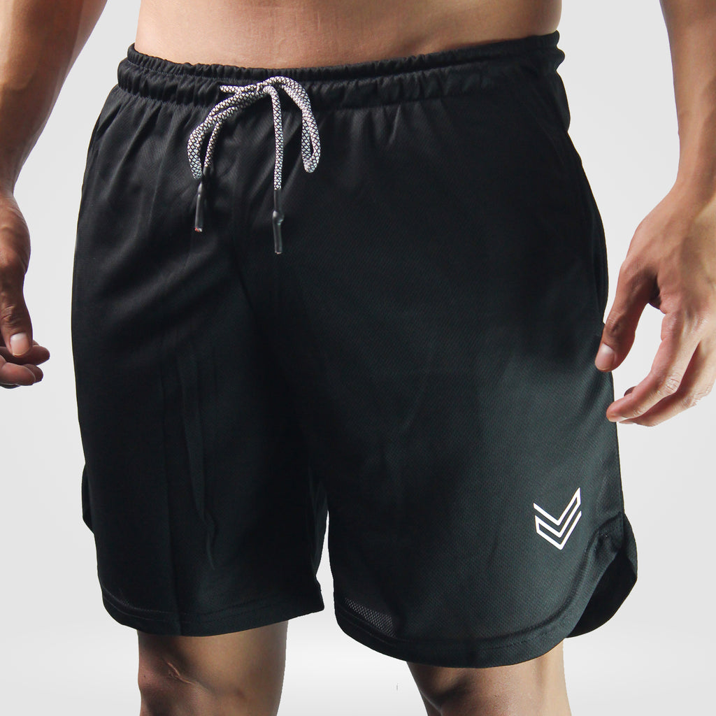 Panzer Training Shorts with Pocket Compression [Black]