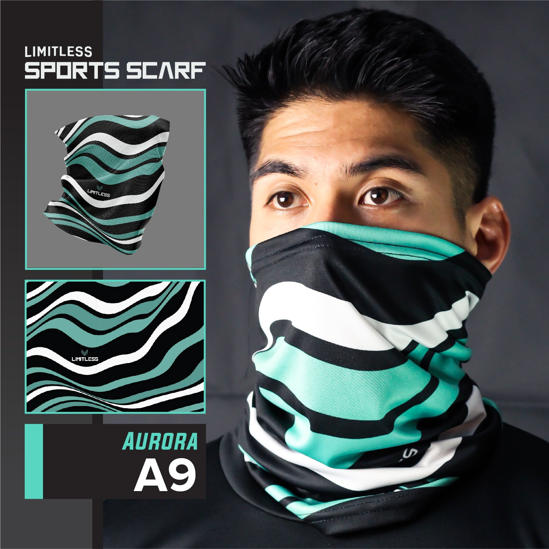 Limitless Outdoor Sports Scarf - Set A