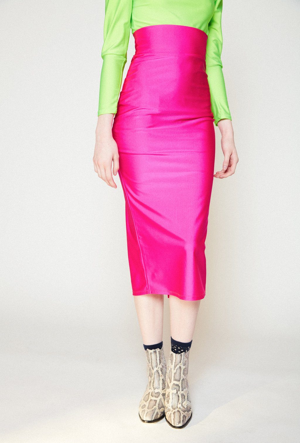 VERONICA FUCHSIA SKIRT