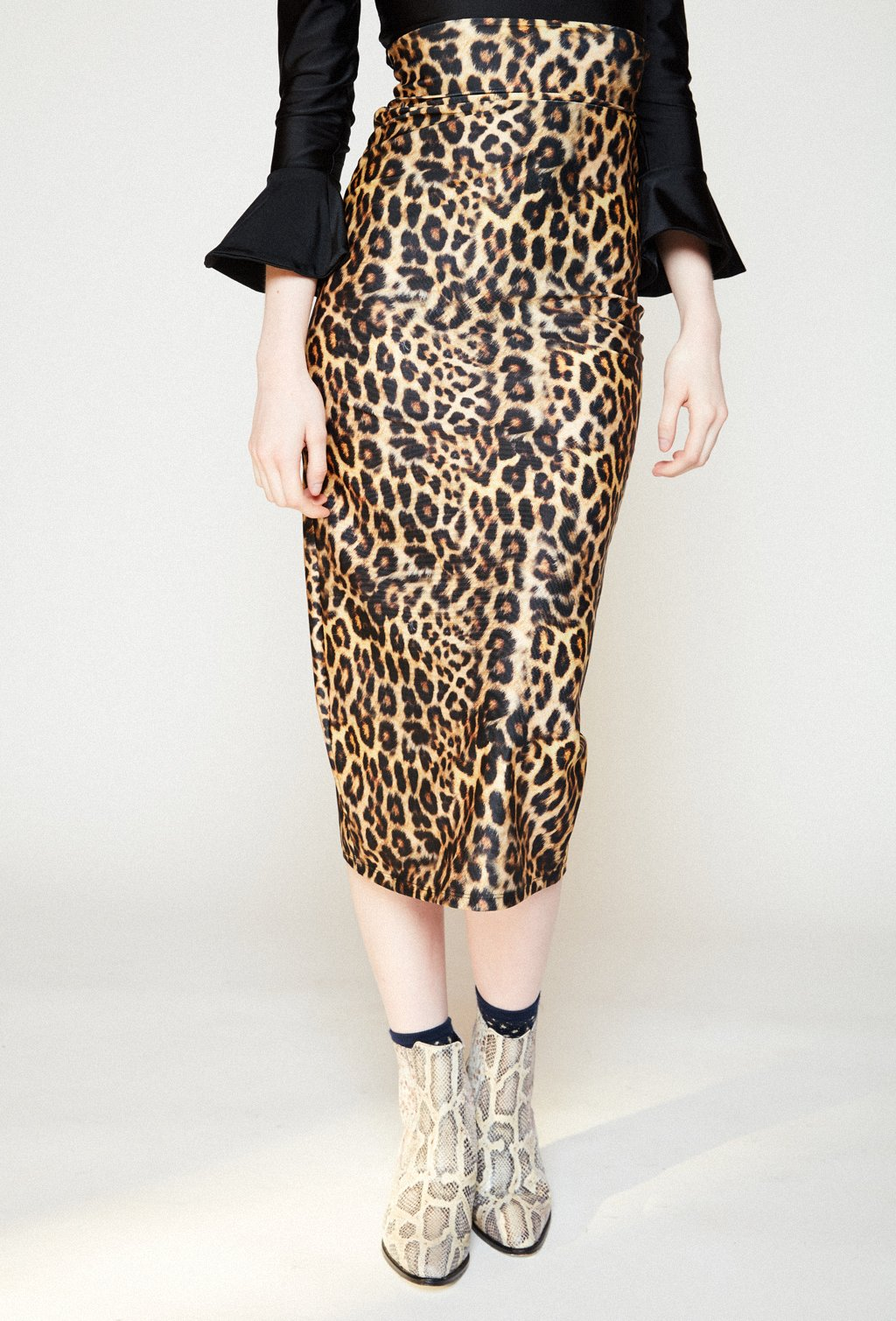 VERONICA LEOPARD SKIRT