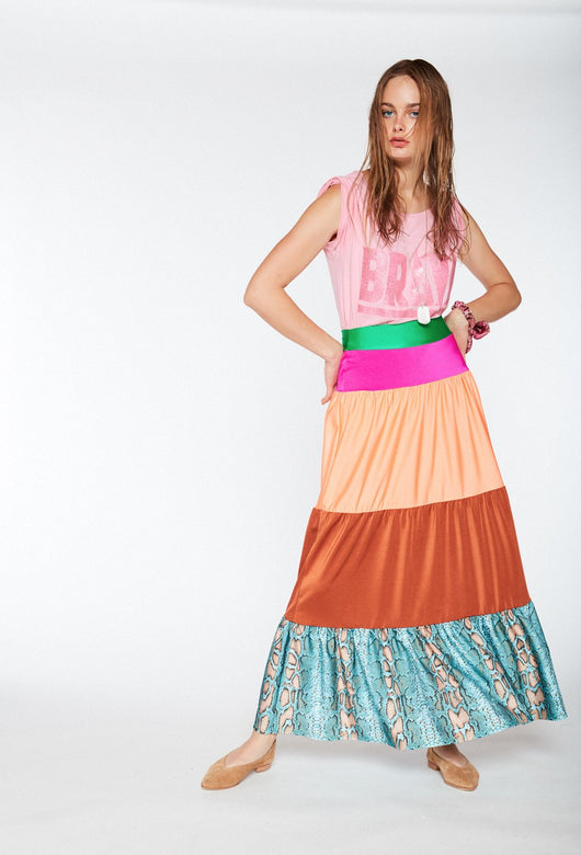 MANUELA FULL COLOR SKIRT