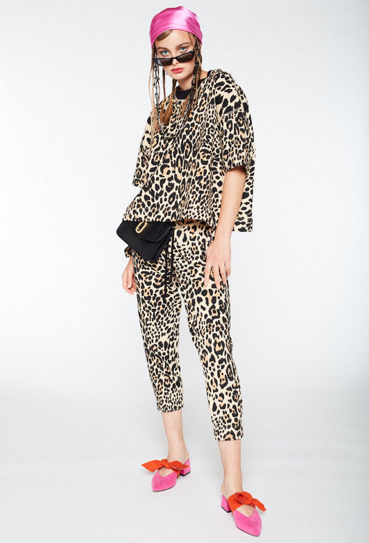 BAY ROAD LEOPARD PANTS