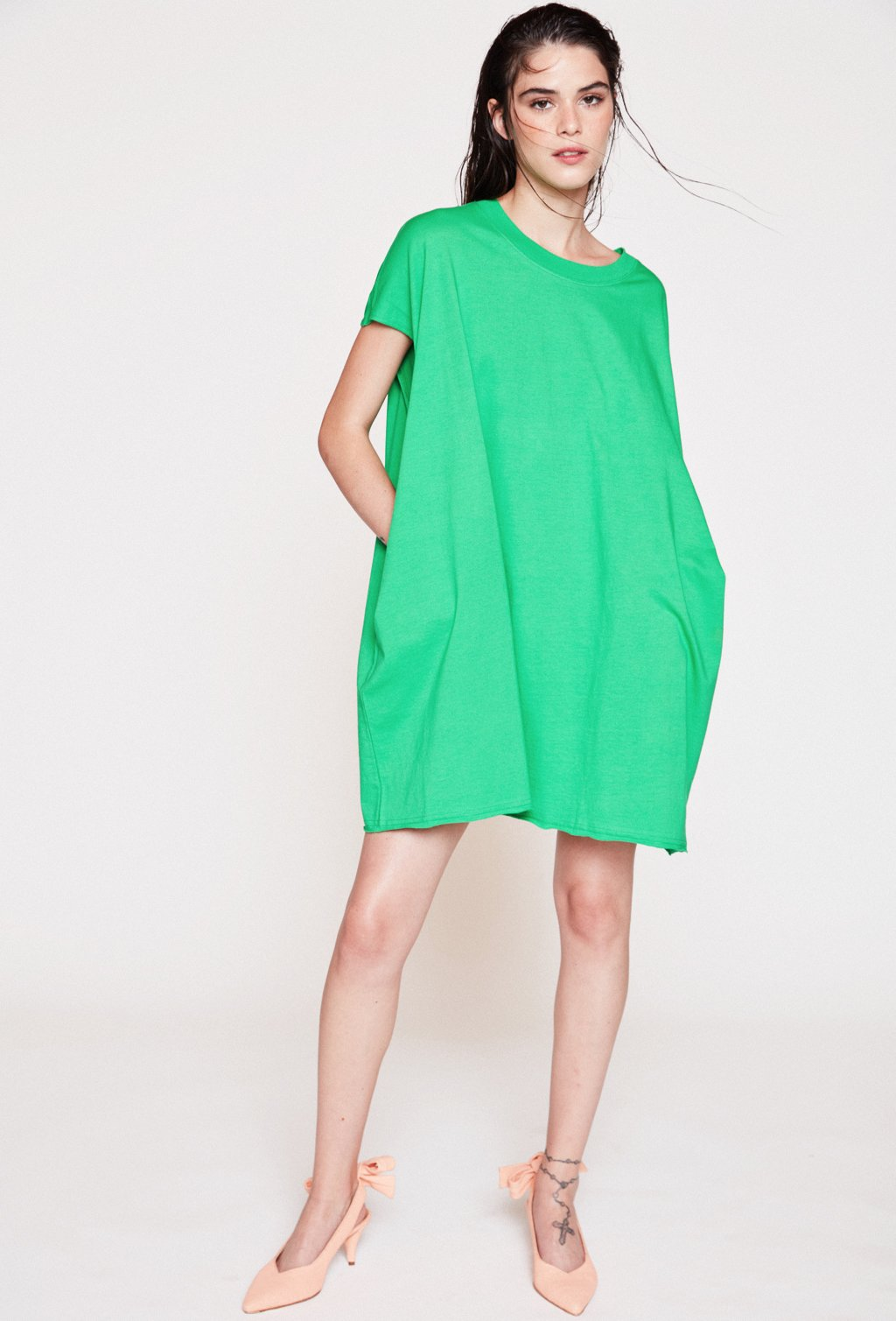 DRESS BAUHAUS GREEN