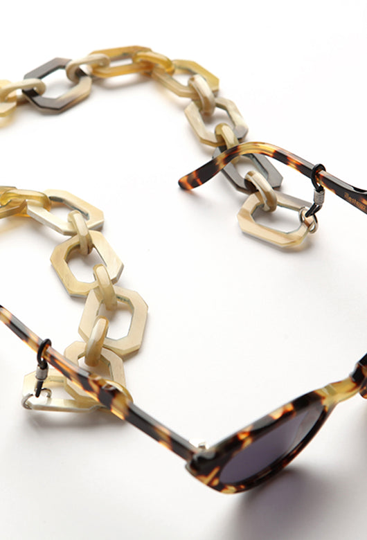 SOHO SUNGLASSES CHAIN LIGHT (SQUARE)