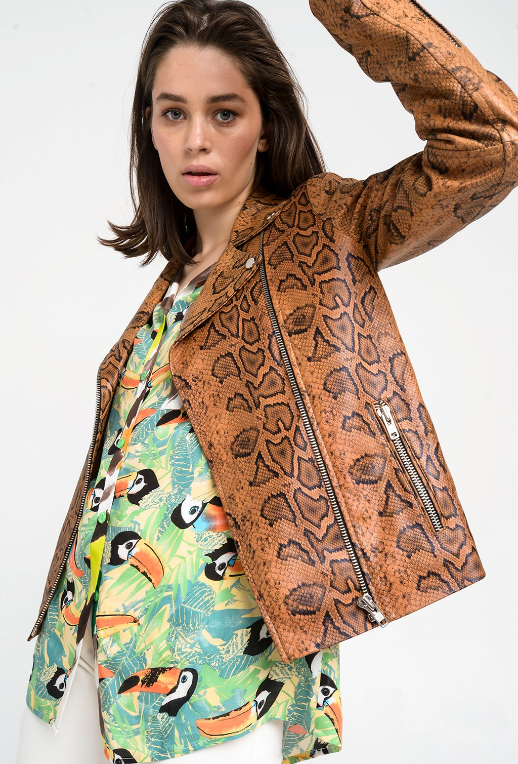 DREAM PITON LEATHER JACKET