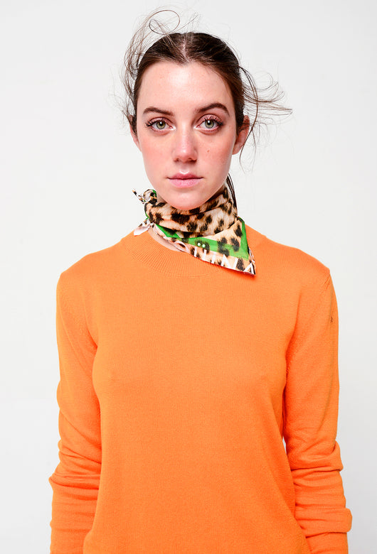 BASICS SWEATER ORANGE