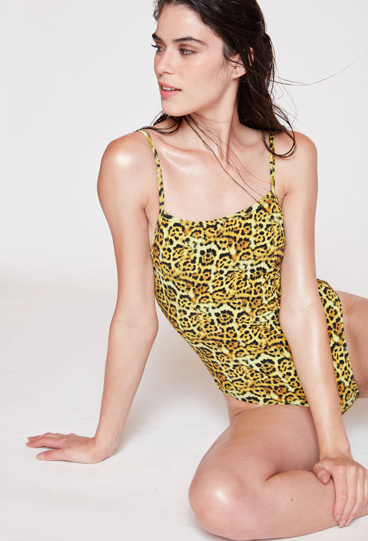swimsuit ELVIRA LEOPARD