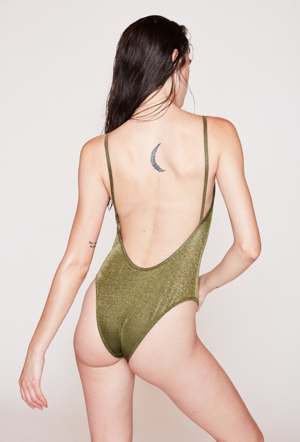 ELVIRA GREEN SWIMSUIT