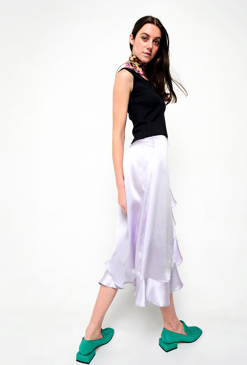 OCEANA SKIRT PURPLE