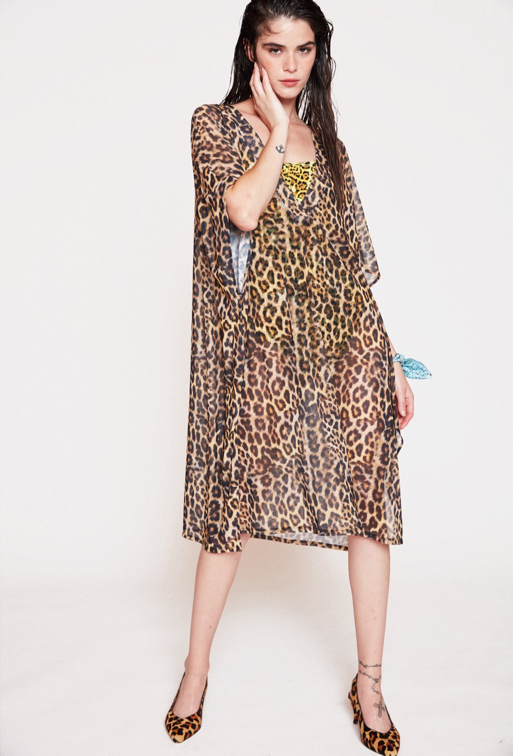 FONTELINA LEOPARD DRESS