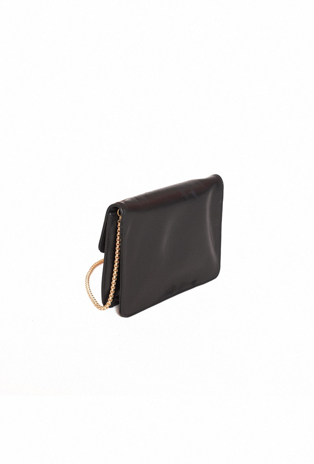 KUKI SMILE BLACK LEATHER PURSE
