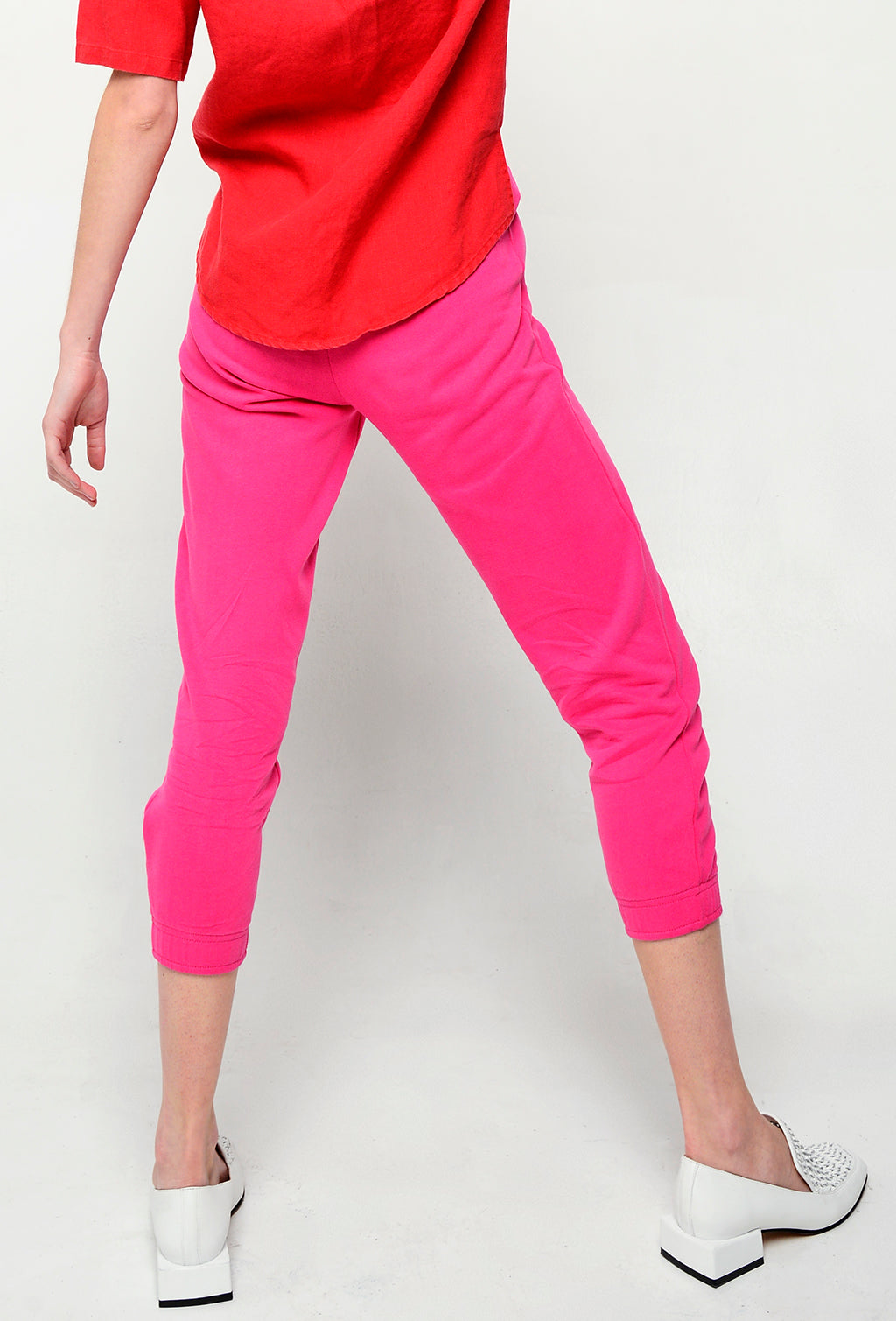 BAY ROAD TROUSERS FUCHSIA