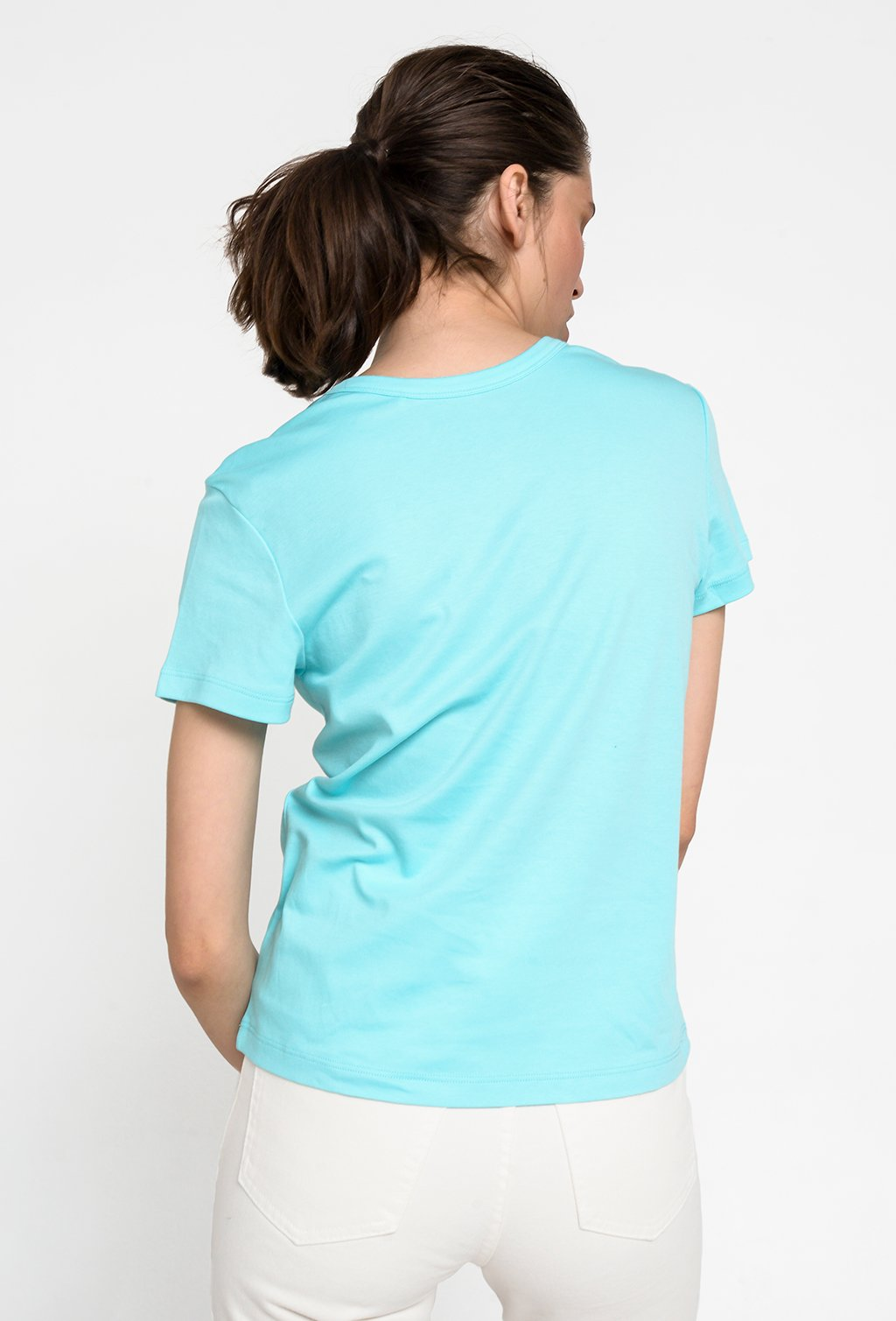 LA BASE LIGHT BLUE T-SHIRT