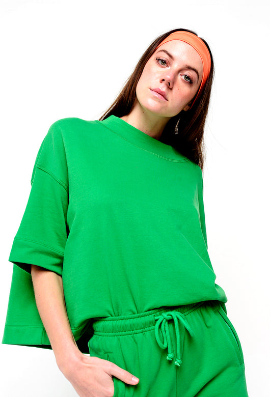 BAY ROAD SWEATSHIRT GREEN