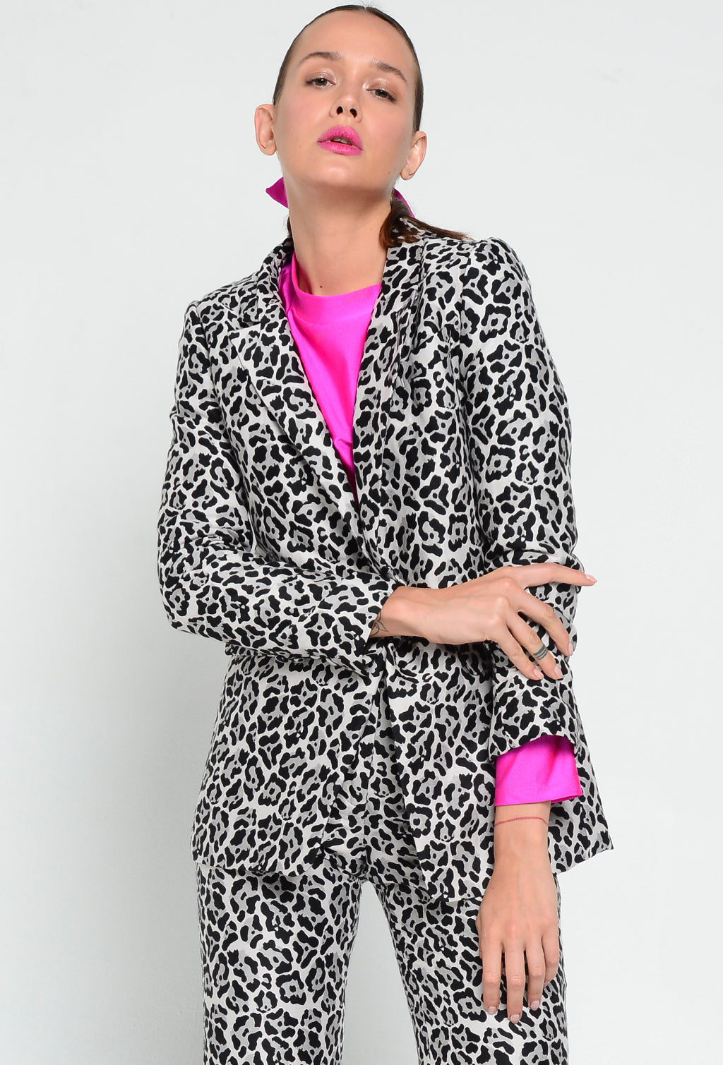 BIG MEN JACKET LEOPARD