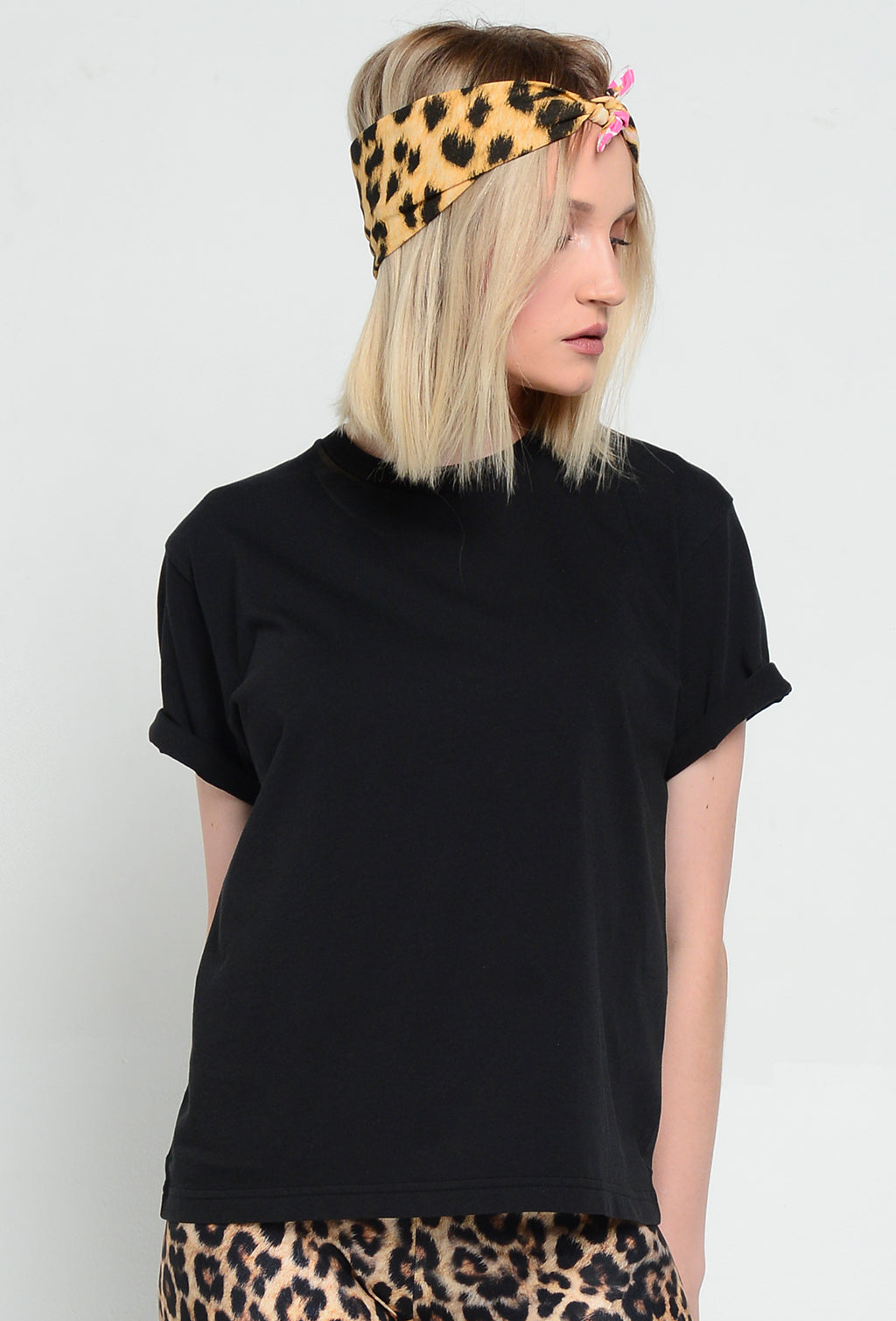 CUINO T-SHIRT BLACK