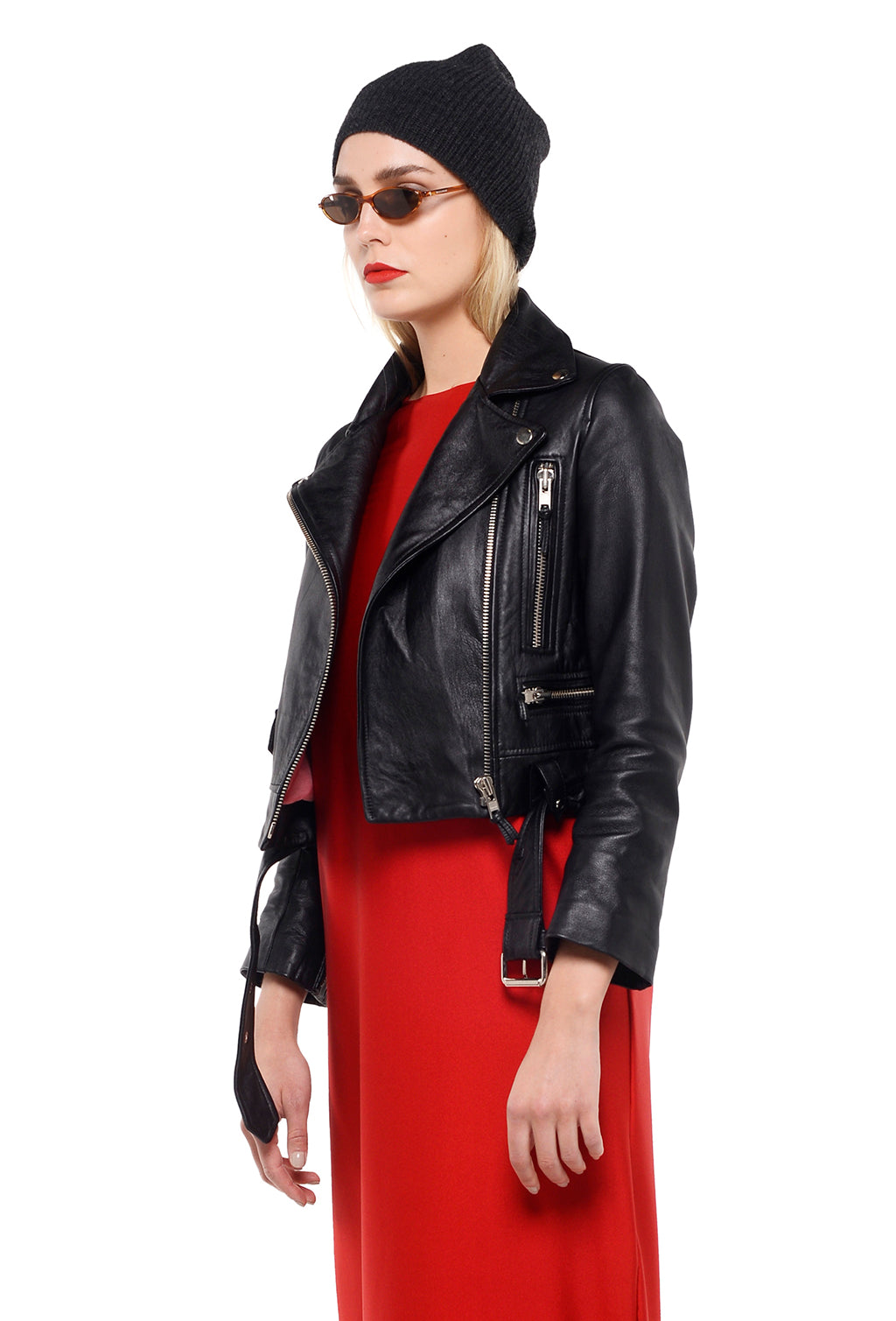 ROCK JACKET BLACK LEATHER