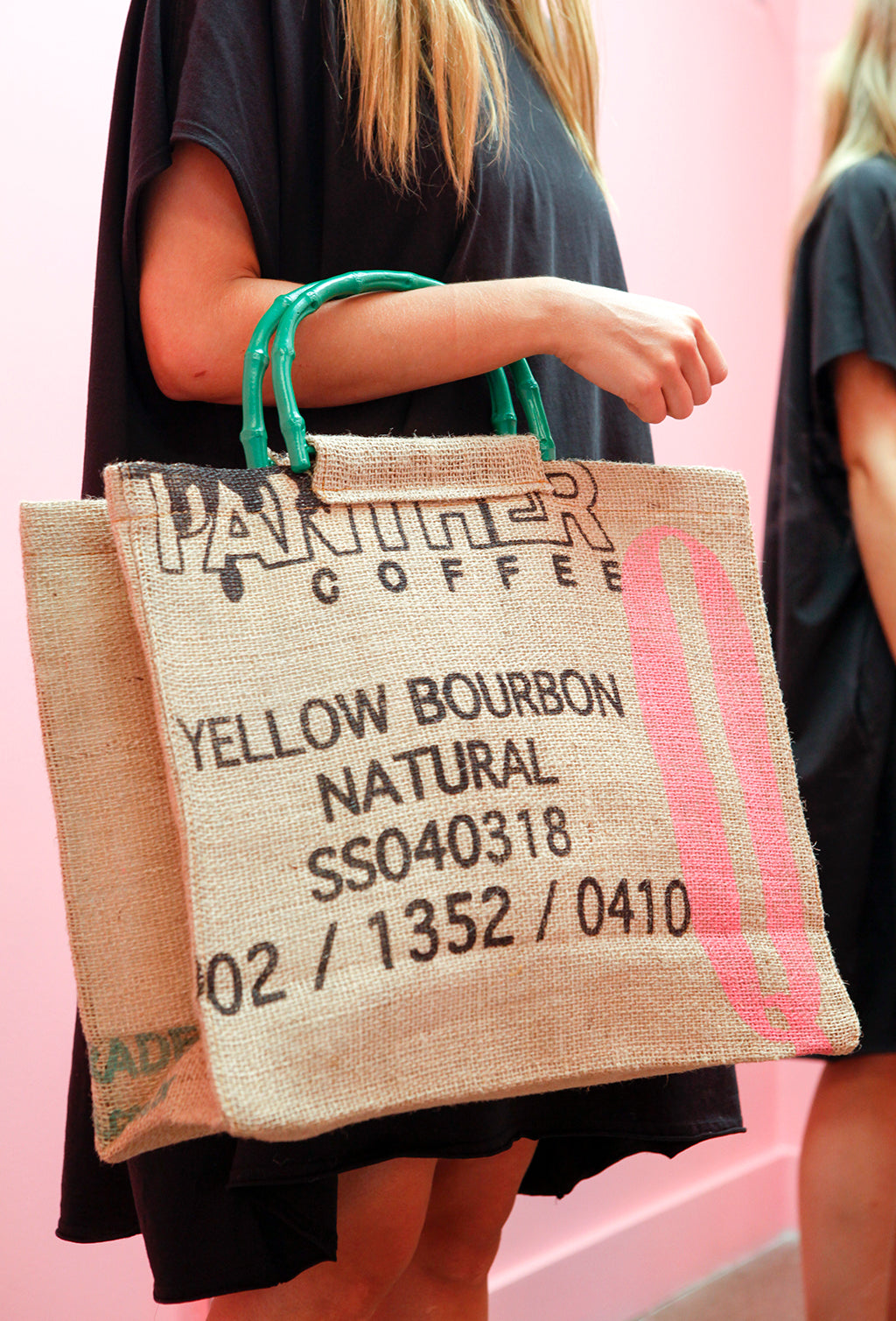 TOTE BAG PANTHER COFFEE X QÜINA
