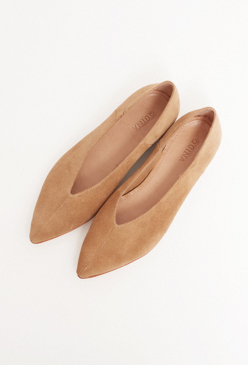 FRANCA CAMEL LOAFER SHOES