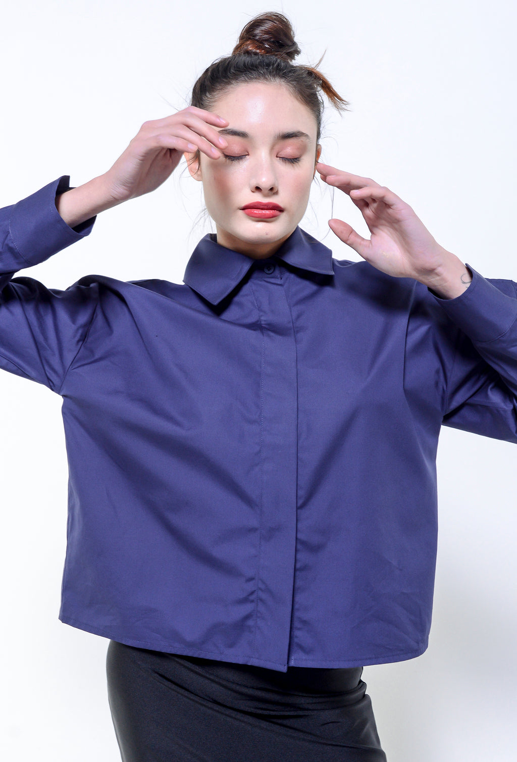 BLANCA BLOUSE BLUE