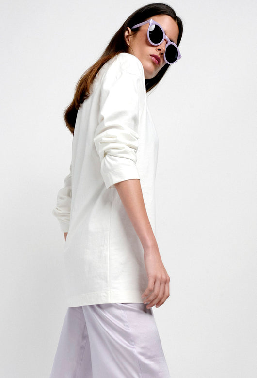 CUINO SWEATSHIRT CREAM