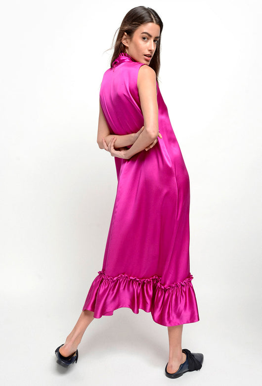 VUELOS DRESS FUCHSIA