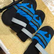 blue waterproof shoes for dogs