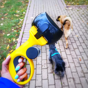 Pooper scooper with bags for dogs