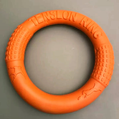 orange rubber ring for dogs