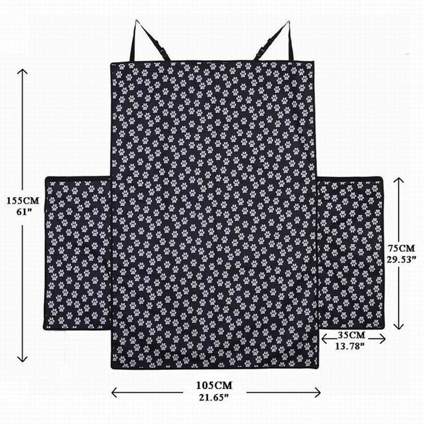 size dimensions for waterproof pet carrier for trunk