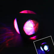 Light up rubber dog ball glowing
