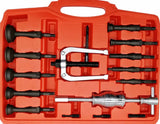 Blind Pilot Inner Bearing Puller and Slide Hammer Set with U-Shaped Bearing Puller 16pc - Specialist Tools Australia