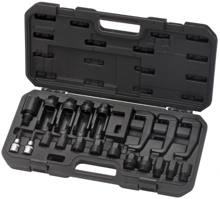 21pc Seized Injector Removal and Dismantling Set for Mercedes, Fiat, BT50, Ford - Specialist Tools Australia