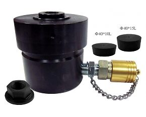 Hollow Hydraulic Cylinder 17 ton With Shoulder Nut M16 x 1.5 - Specialist Tools Australia