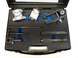 Universal Diesel injector Removal Kit with Slide Hammer and Special Injector Adaptors - Govoni - Specialist Tools Australia