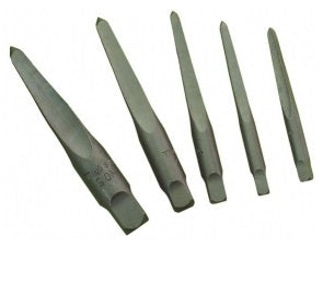 5 Pc Straight Flute Screw Extractor Set - Specialist Tools Australia