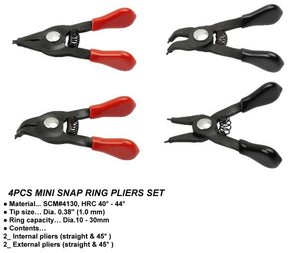 Mini Snap-Ring Pliers Set For S-Ring & R-Ring Tools - Specialist Tools Australia