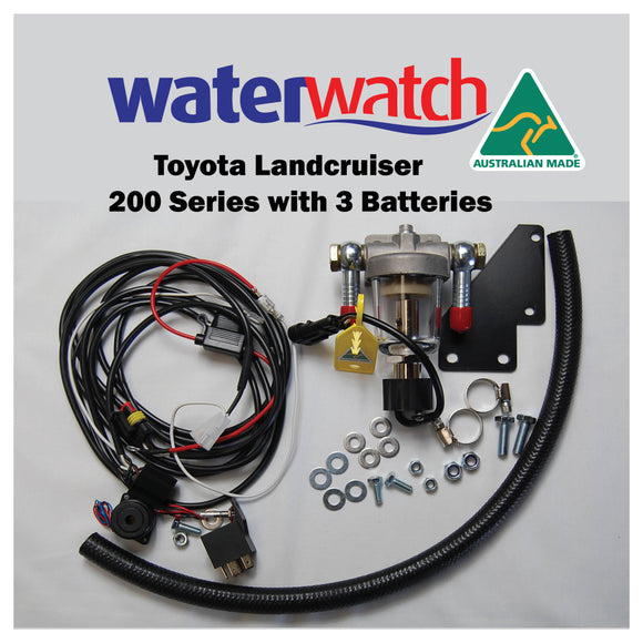 WATER WATCH for Toyota 200 Series with 3 Batteries - Specialist Tools Australia
