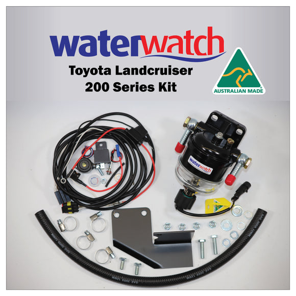 WATER WATCH for Toyota Landcruiser 200 Series - Protection against Diesel Fuel Contamination Damage - Specialist Tools Australia