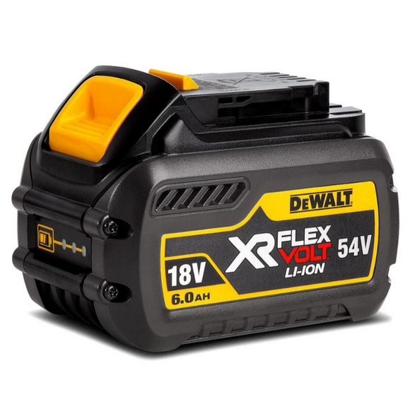 18V-54V 6.0Ah XR Flexvolt Li-Ion Battery