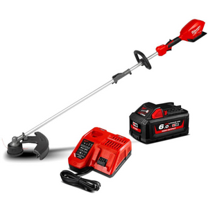 18V 6.0Ah Li-ion Cordless Fuel Outdoor Multi-Function Power Head with Line Trimmer Attachment