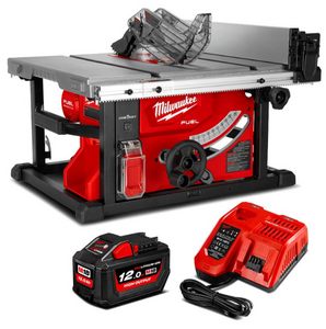 "18V 12.0Ah Li-ion Cordless Fuel ONE-KEY 210mm (8-1/4"") Table Saw Combo Kit"