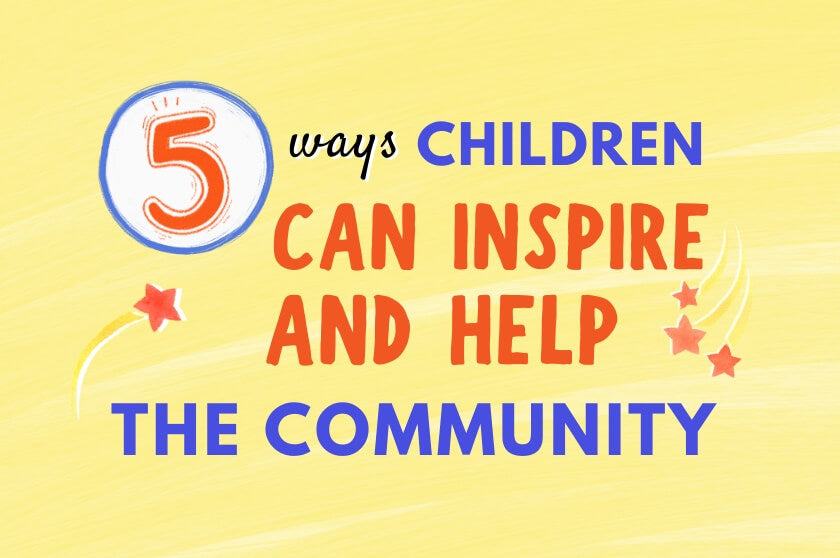 5 Ways Children Can Inspire and Help the Community